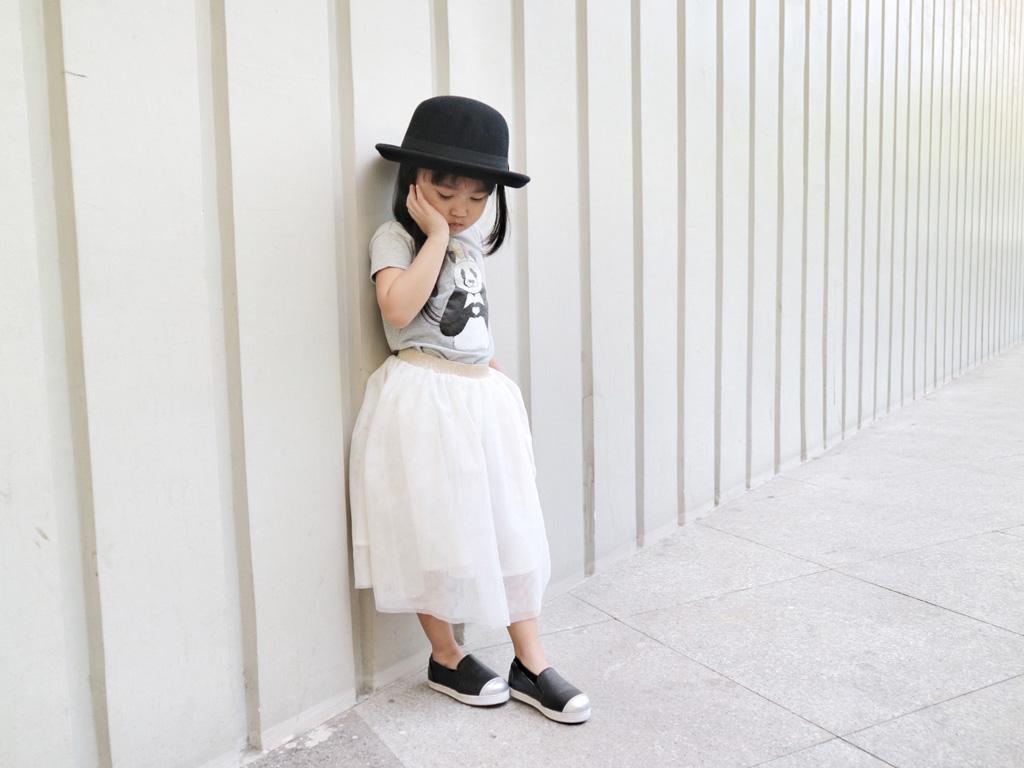 OOTD: Tulle Skirt & Panda Bear 001