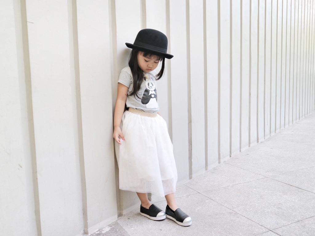 OOTD: Tulle Skirt & Panda Bear 002